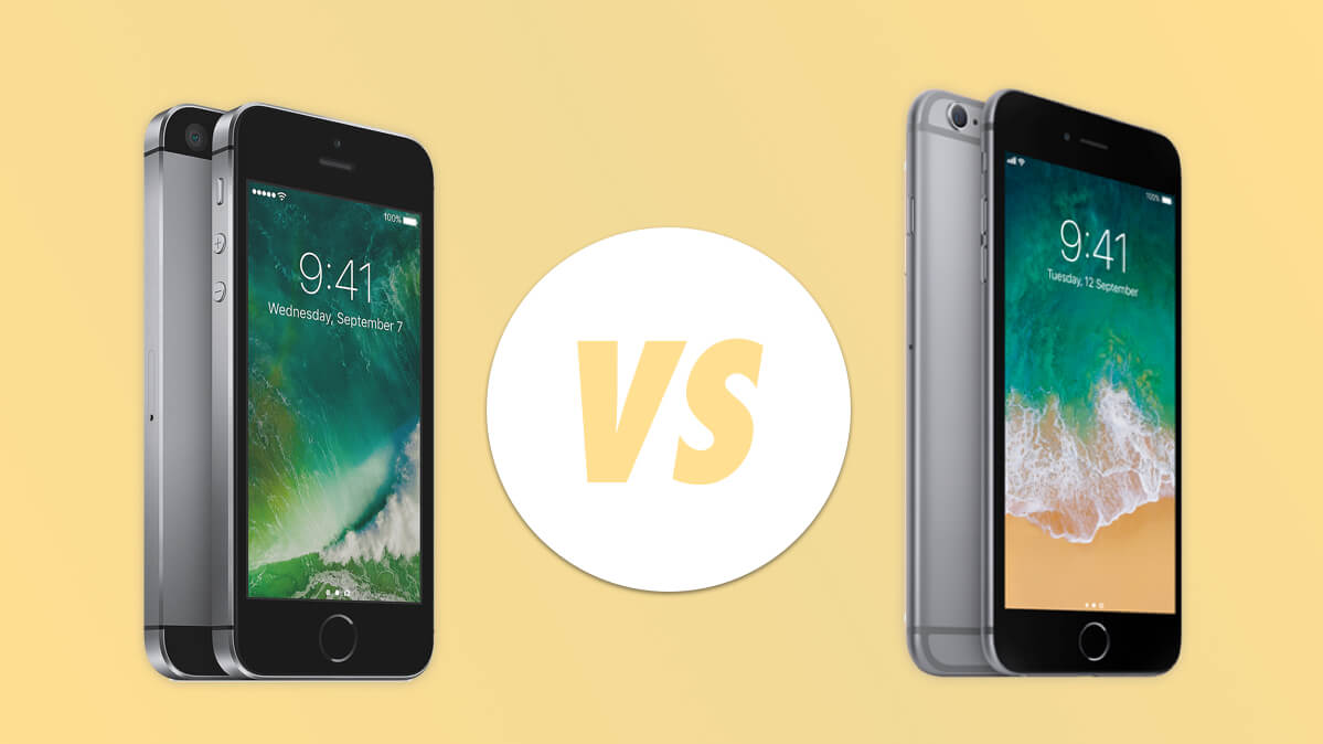 iPhone SE vs iPhone 6S: De ultieme vergelijking
