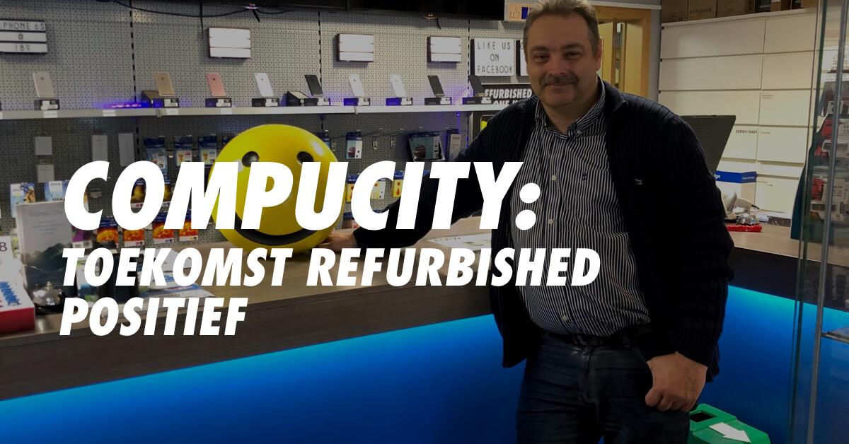 Referentie Didier Vandoren (CompuCity) over Forza Refurbished