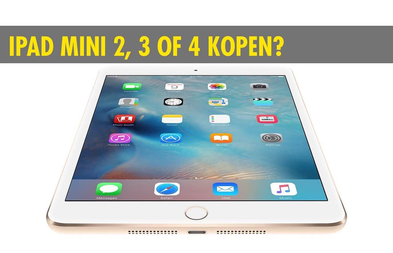 iPad Mini kopen? Een klein, veelzijdig apparaat!