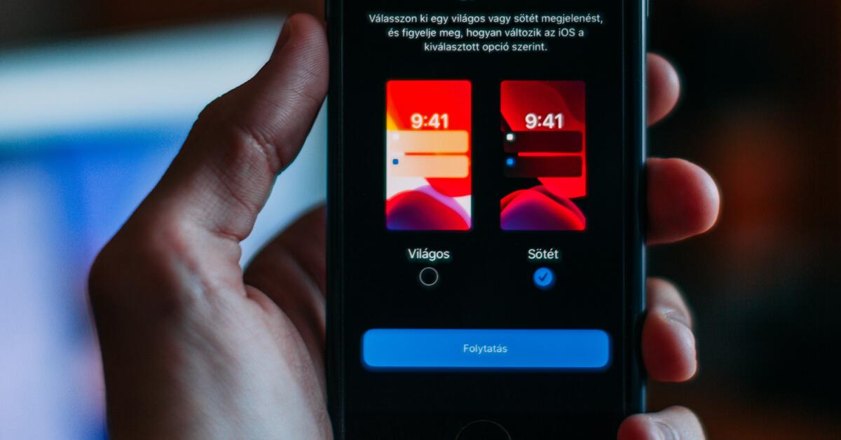 Langer doen met de batterij van je iPhone dankzij de nieuwe Dark Mode in iOS 13