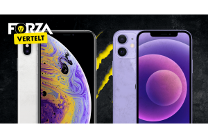 iPhone X vs. iPhone 12 Mini