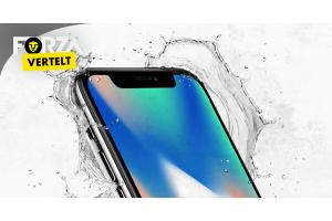 iPhone X waterdicht