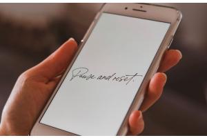 nieuwe iphone resetten