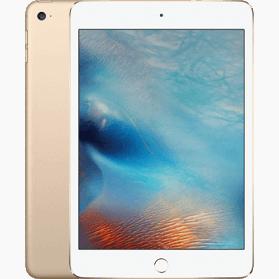 Refurbished iPad Mini 4 16GB Gold 4G