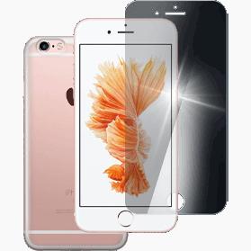 iPhone 6S Plus screenprotector en hoesje transparant