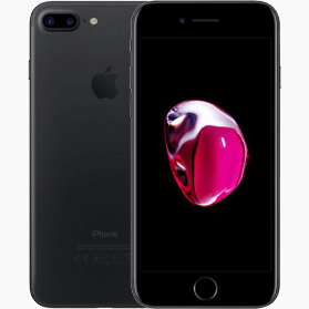 Refurbished iPhone 7 Plus 32GB Zwart