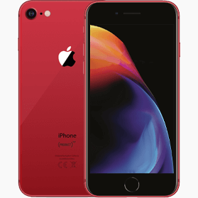Refurbished iPhone 8 256GB Rood