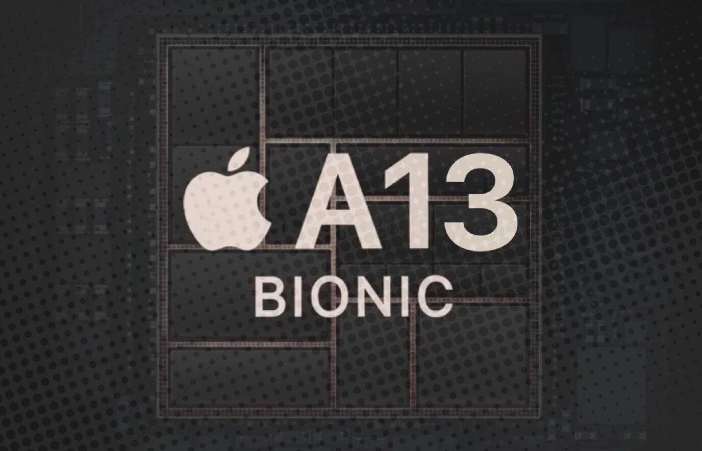 A13 Bionic chip