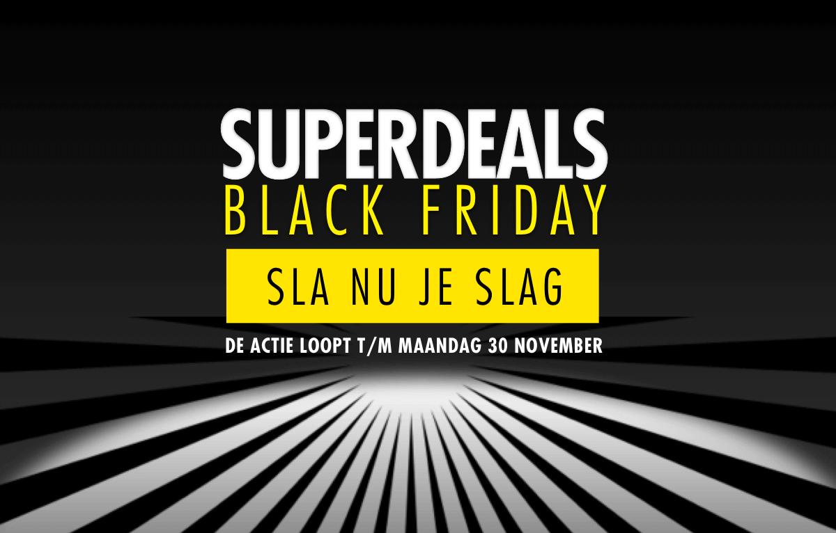 Black Friday bij Forza!