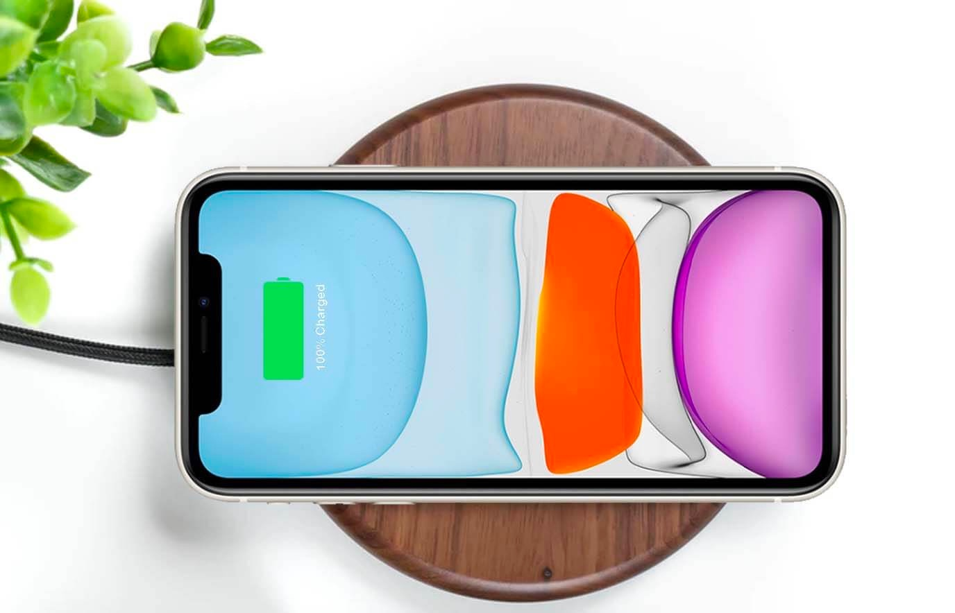 Draadloos opladen iphone 11 instellen