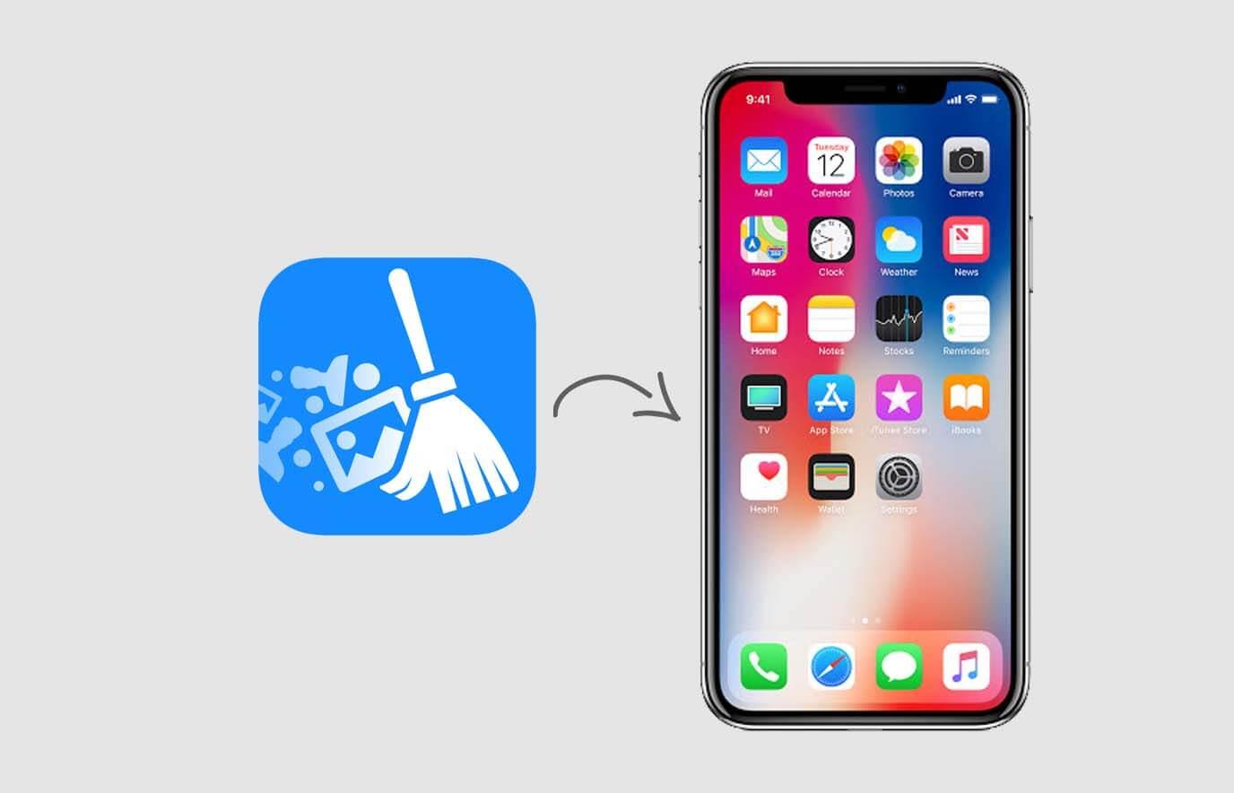 iPhone opslag vrijmaken