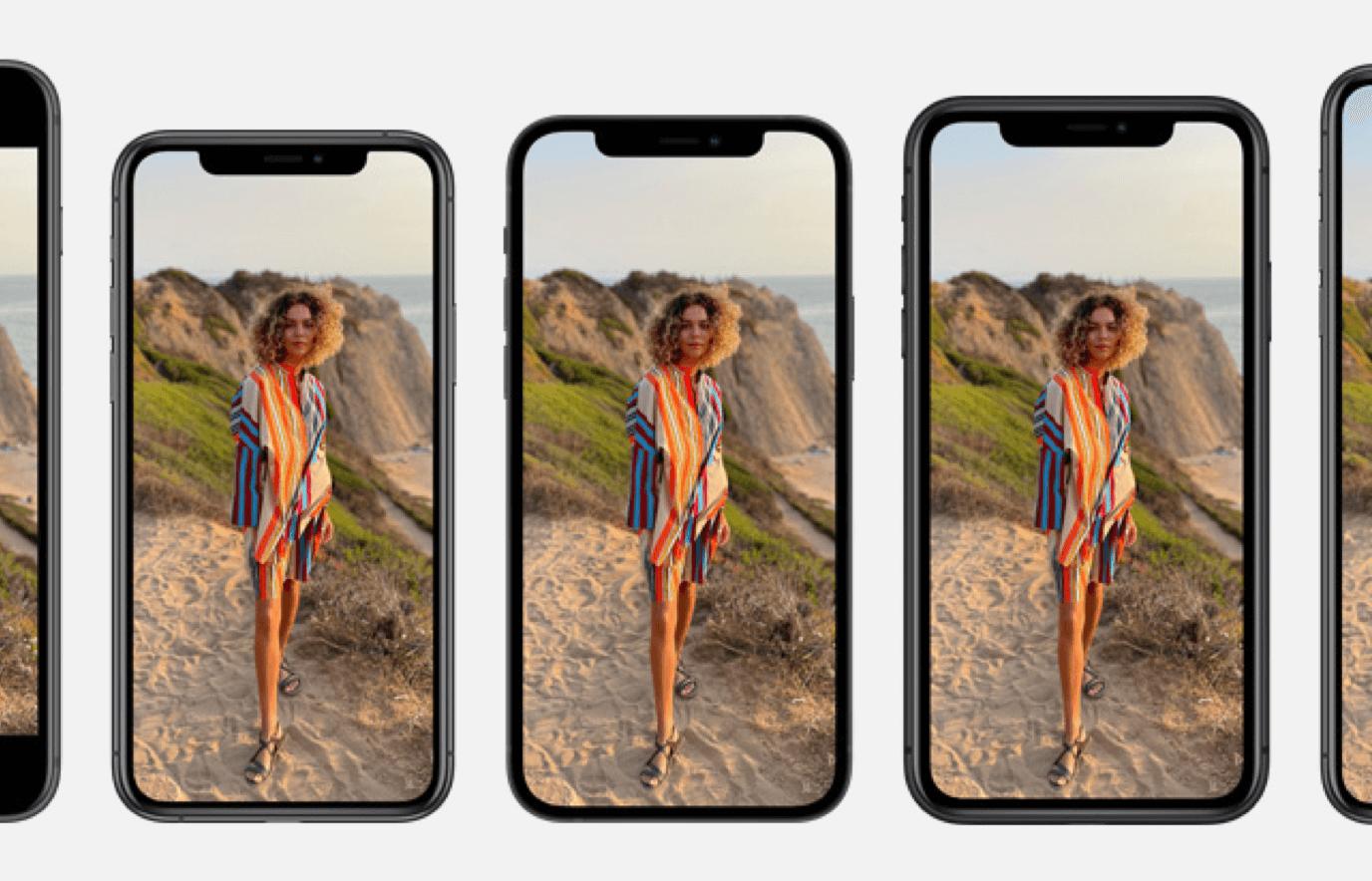 iPhone schermen overzicht