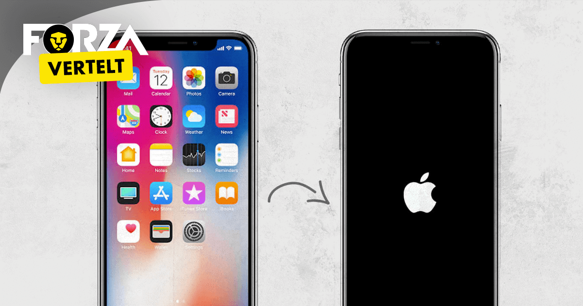 iPhone X resetten
