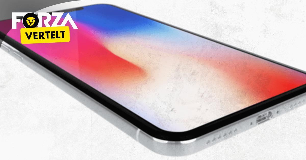 iPhone X scherm