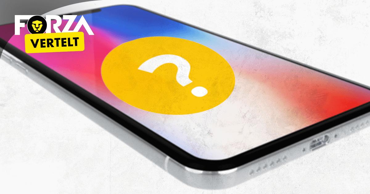 iphone x touchscreen werkt niet