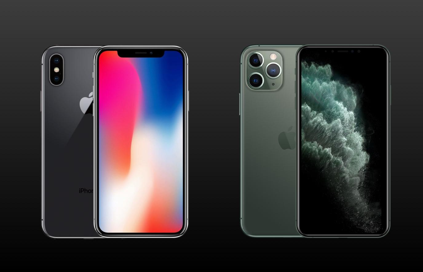 iPhone 11 Pro vs iPhone X