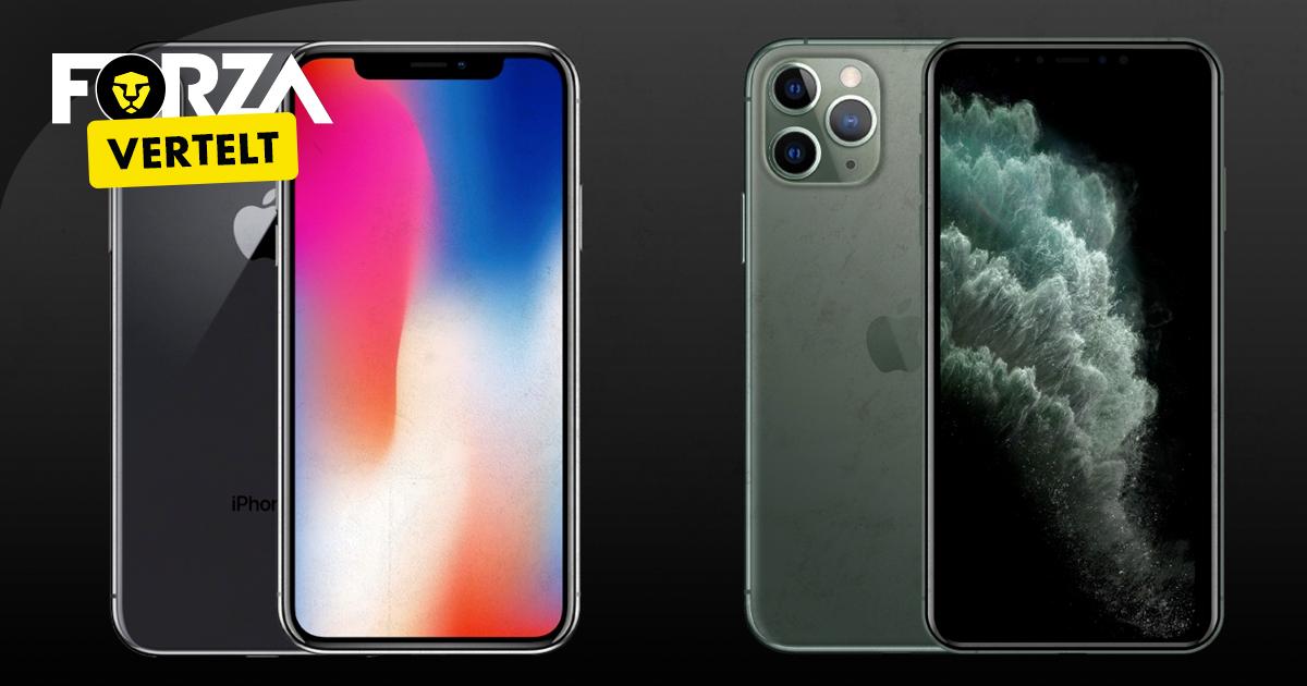 iphone 11 pro vs iphone x specs