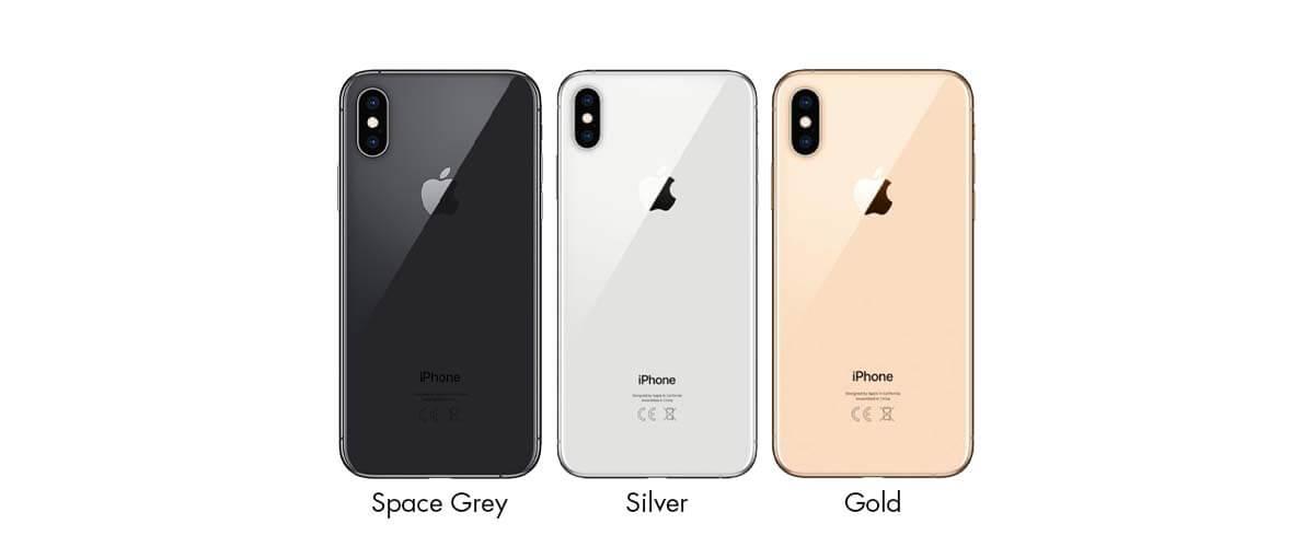Kleuren iPhone XS