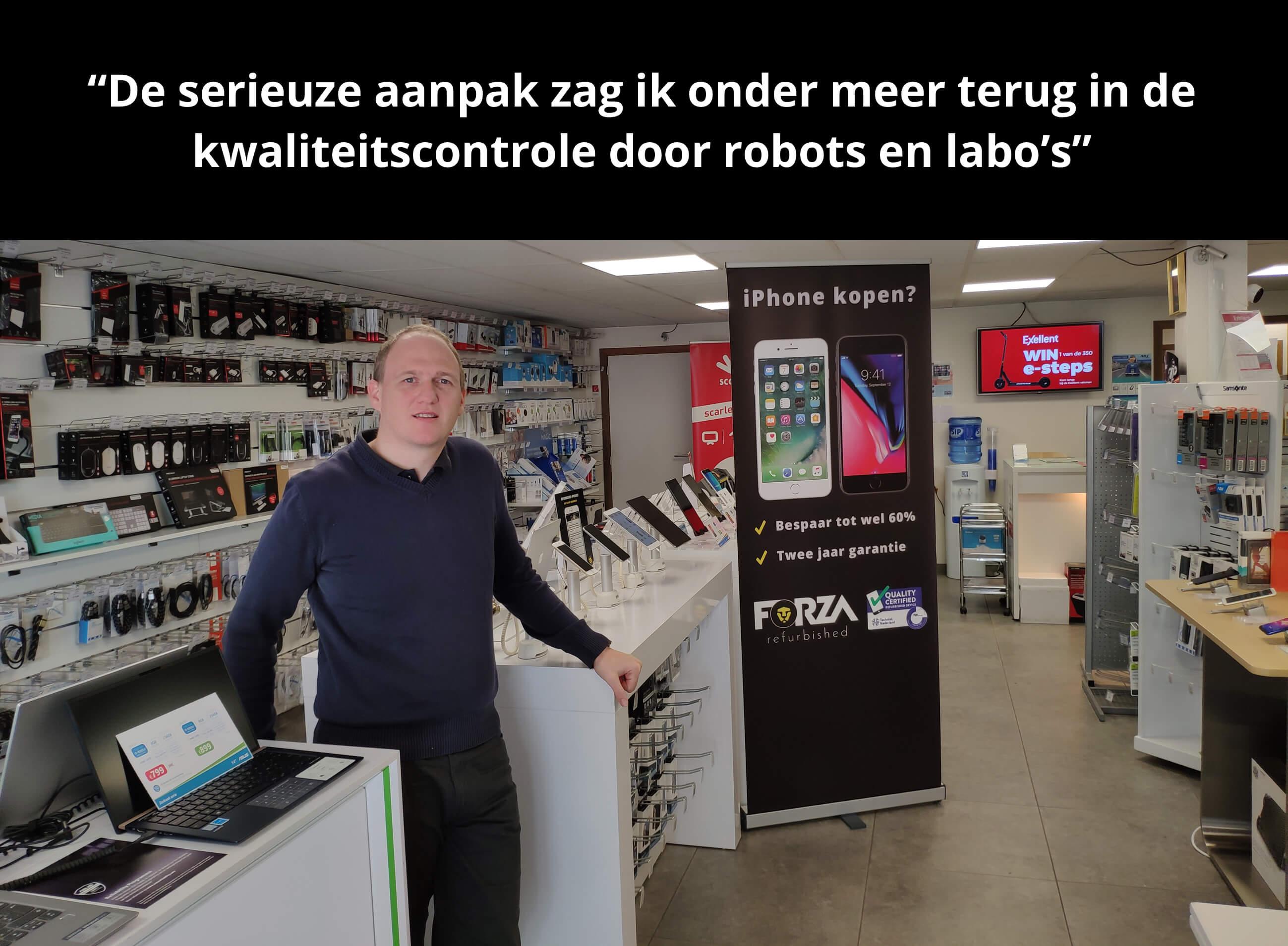JD Systems en Forza Refurbished een succesvolle samenwerking