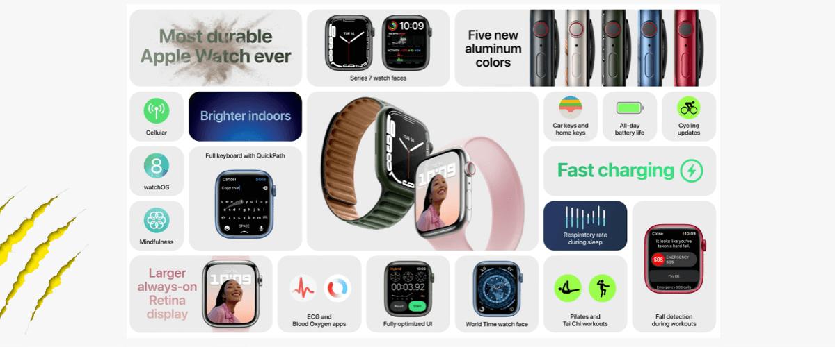 apple watch generatie 7