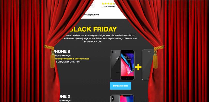 Black Friday Refurbished Deals bij Forza
