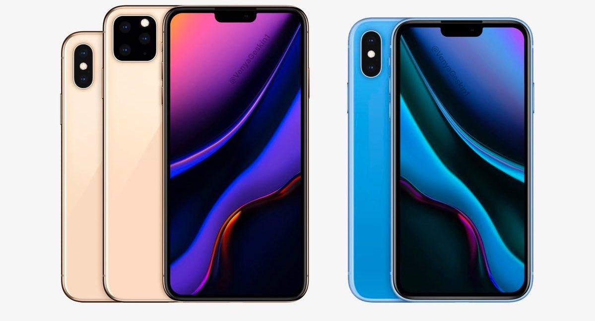 iphone 2019 met nieuwe cameras