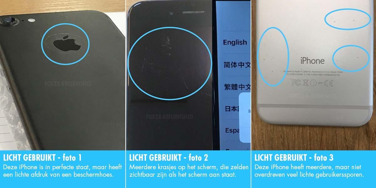 Licht gebruikte iPhone Forza