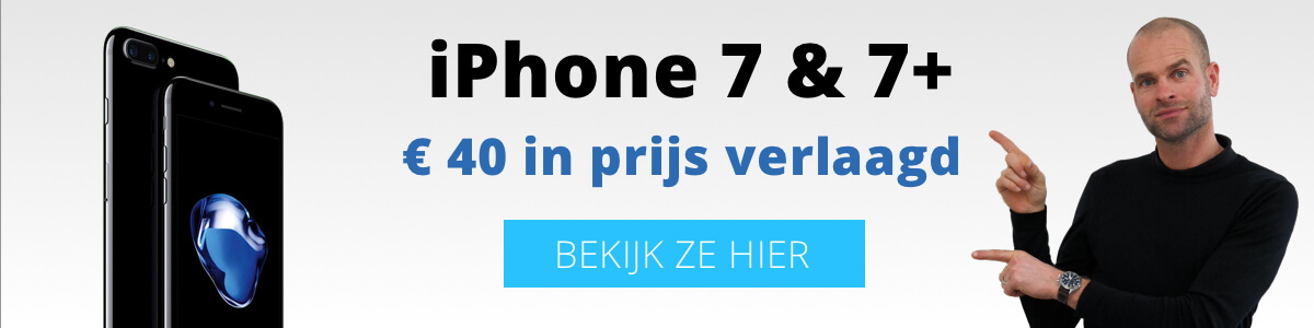 iPhone 7 en 7 Plus
