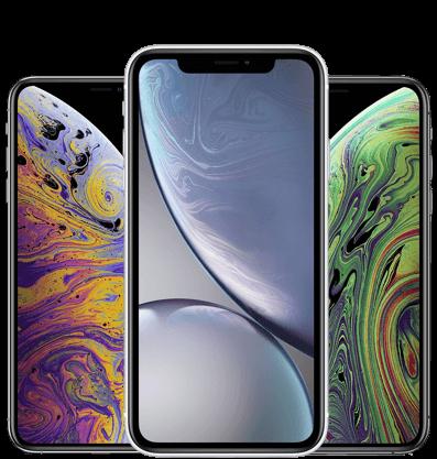 iPhone X, XR & XS