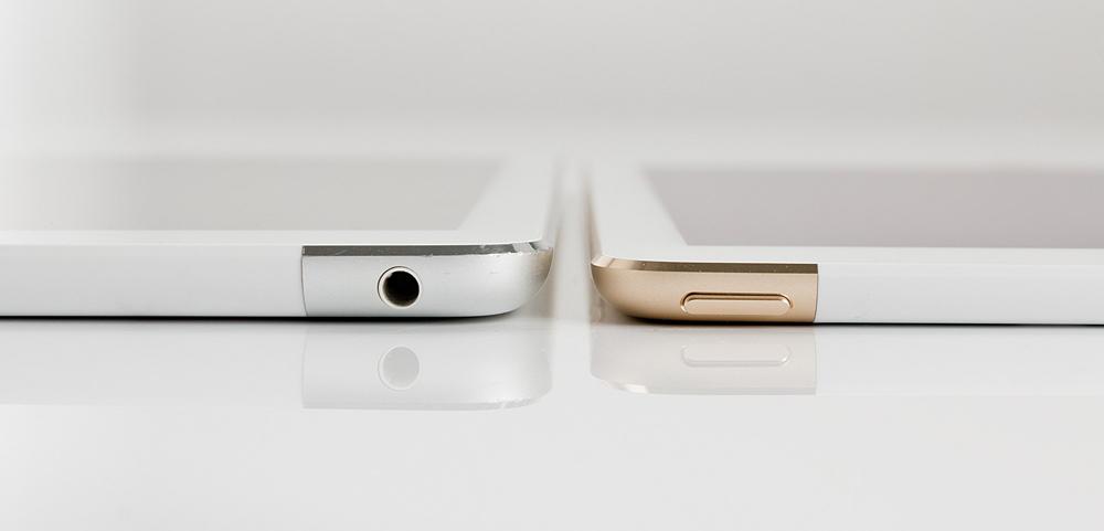 dikte iPad Air 1 en iPad Air 2