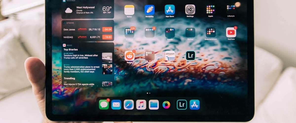iPadOS besturingssysteem iPad