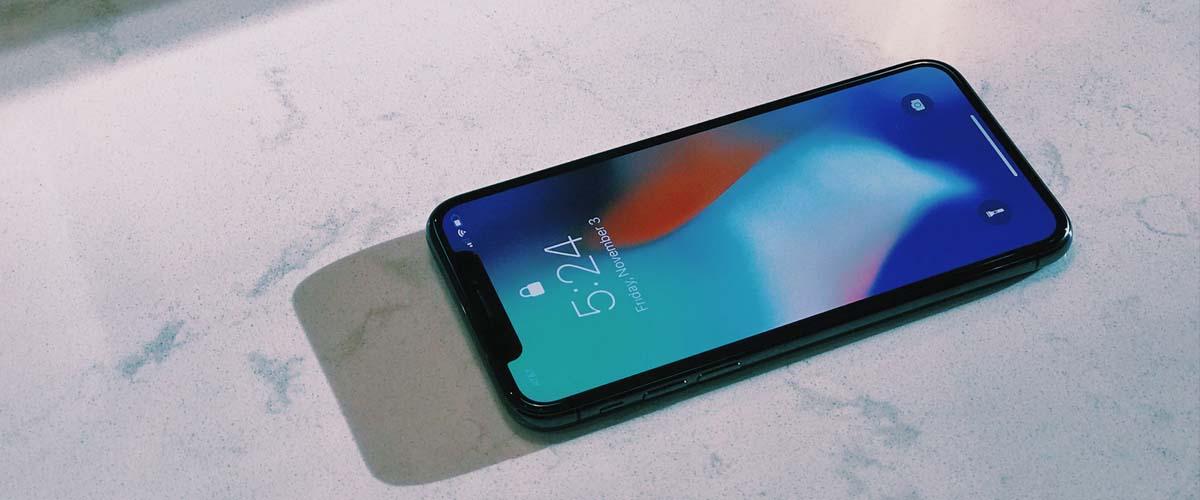 OLED-display en notch iPhone X