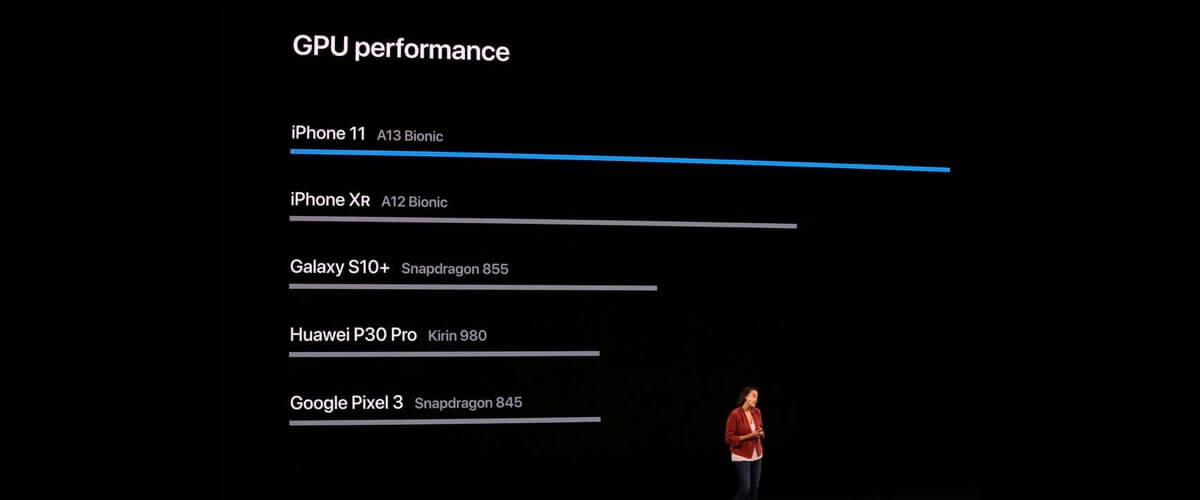 a13 bionic chip iphone 11