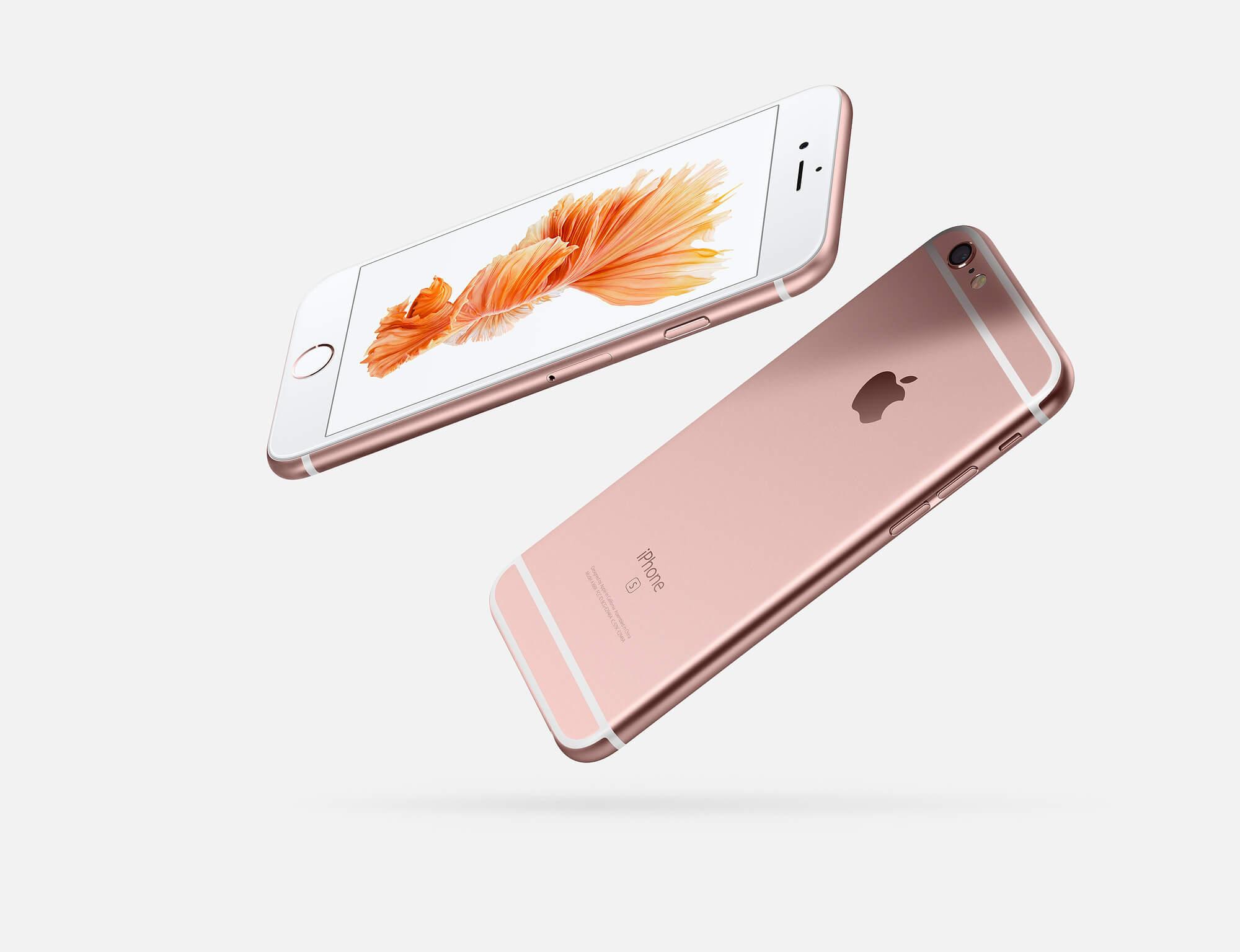 iPhone 6S Rosé Goud