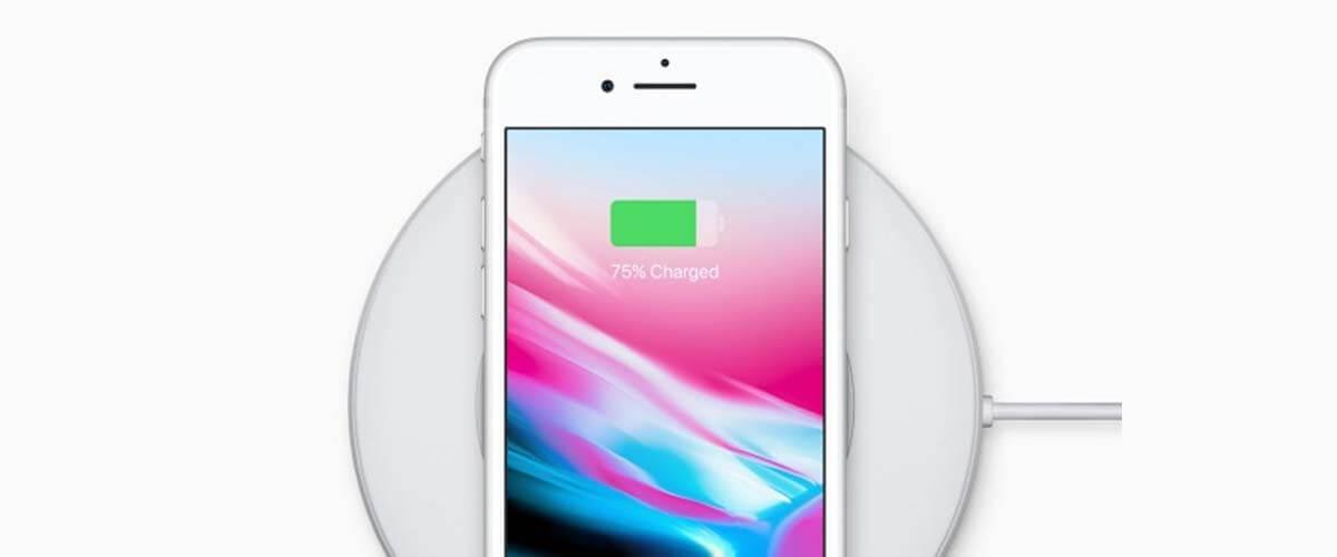 draadloos opladen iPhone 8