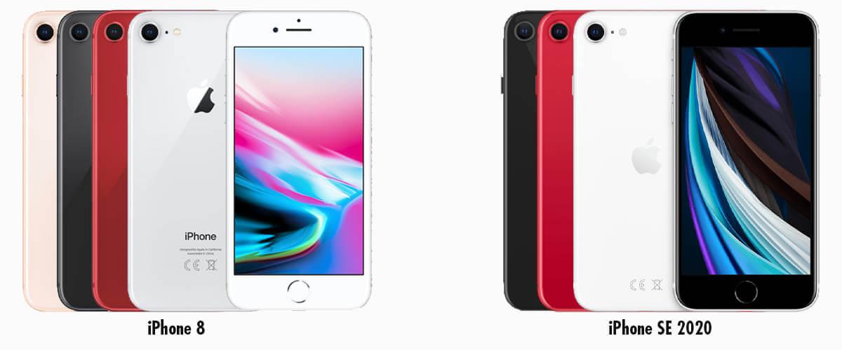 Design iPhone 8 en iPhone SE