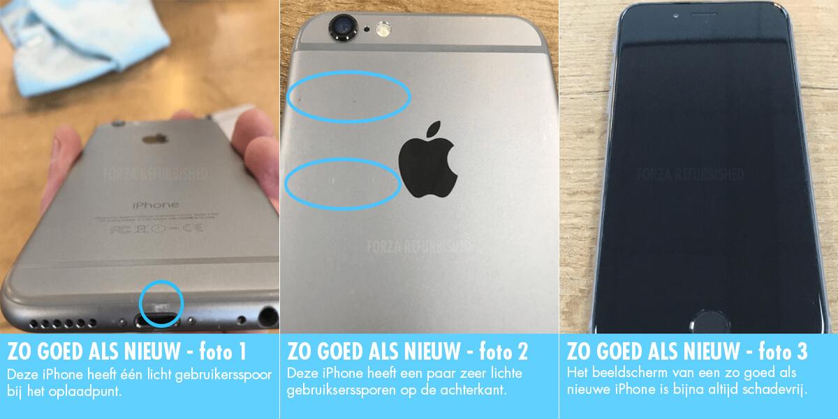 Refurbished iPhone A-grade: zo goed als nieuw