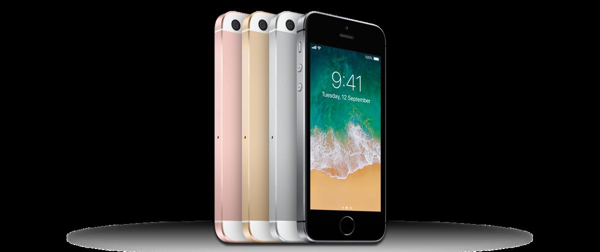 iphone SE ook iOS14 ondersteuning