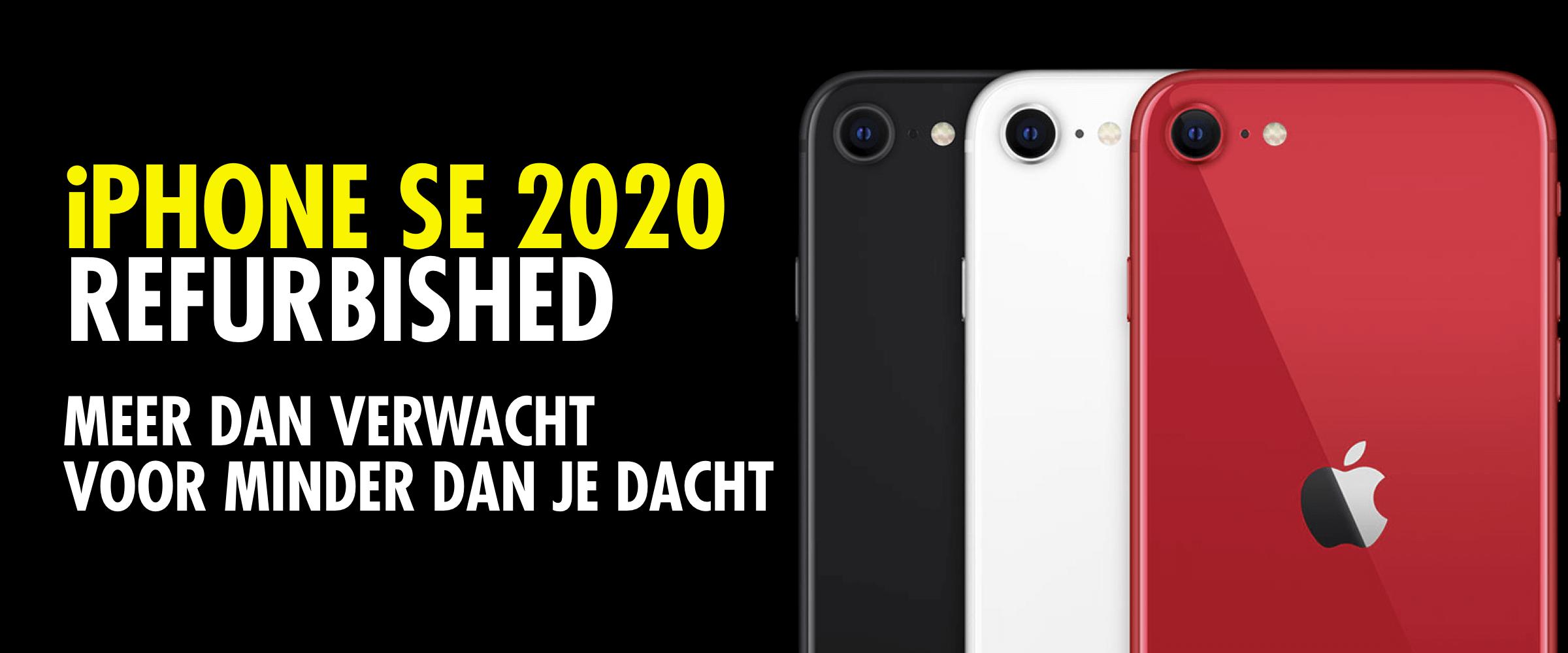 iphone se 2020 refurbished 5 redenen om te kopen