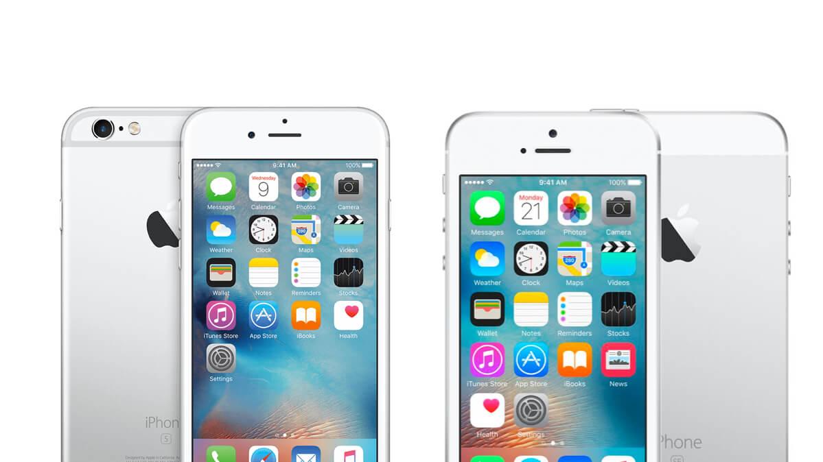 iphone 6s vs iphone se