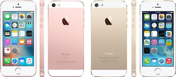iPhone SE en iPhone 5S design