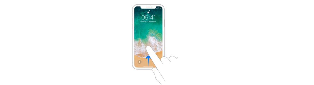 iphone x ontgrendelen