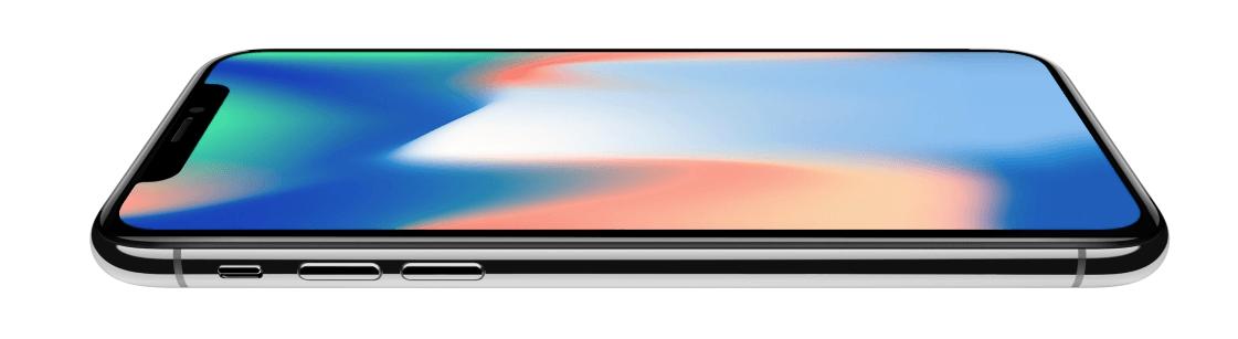 iPhone X refurbished silver
