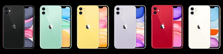 iphone 11 alle kleuren