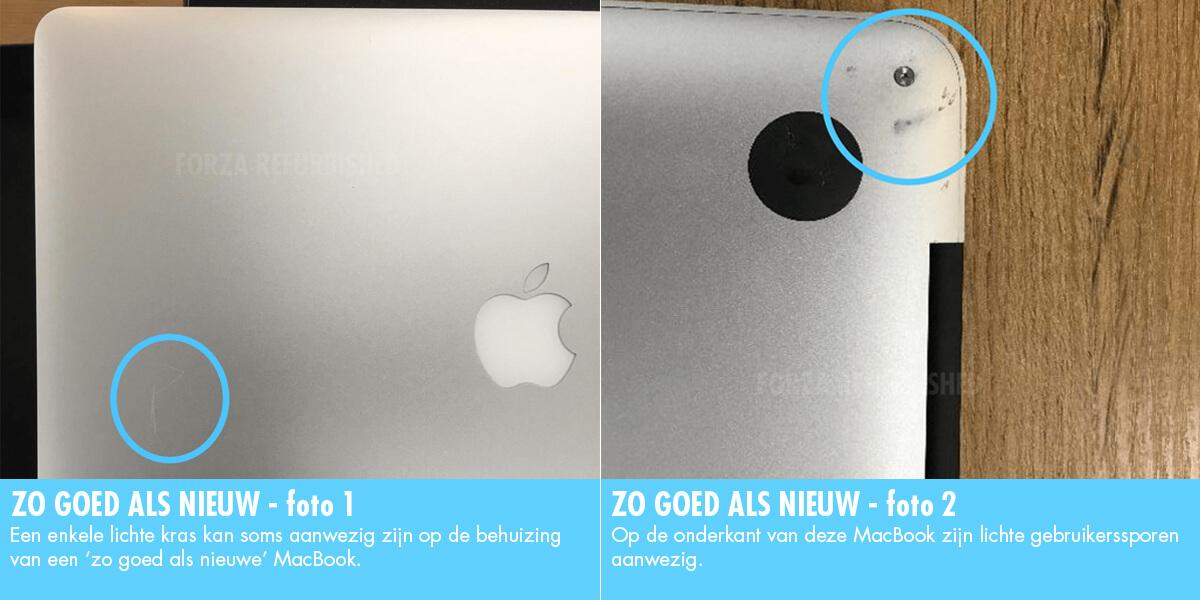 Refurbished MacBook A-grade: zo goed als nieuw