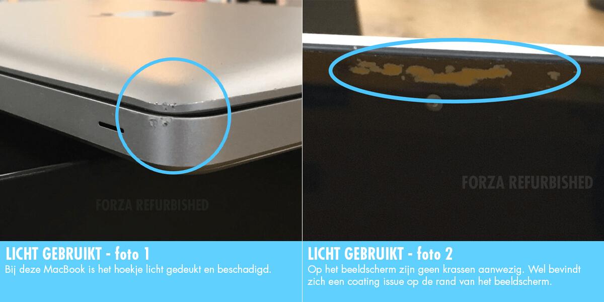 MacBook B-grade: licht gebruikt