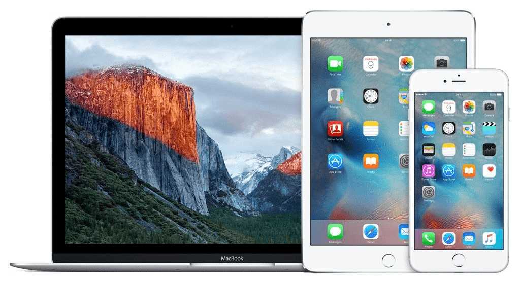 refurbished MacBook, iPhone en iPad