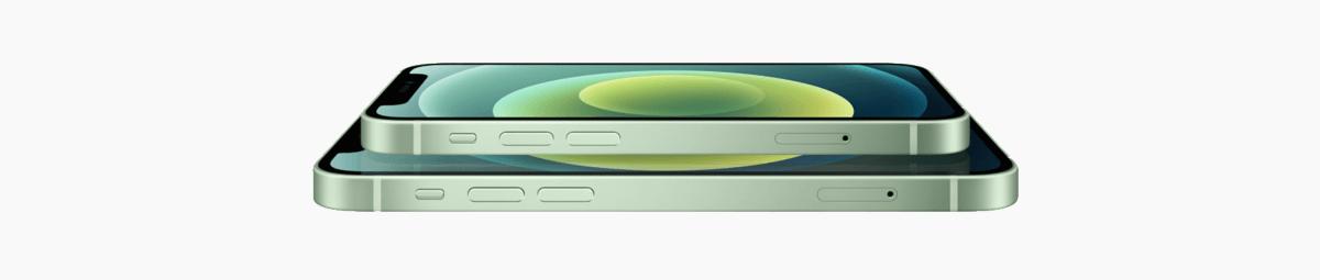 iphone 12 groen